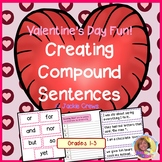 Creating Compound Sentences for Valentine's Day