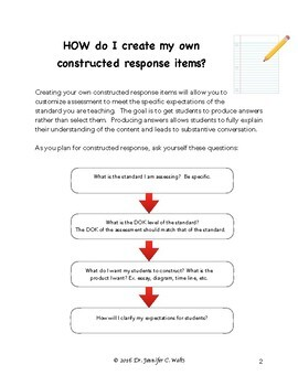 Creating Constructive Response Prompts