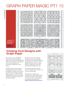 creating cool designs with graph paper by katherine yamashita tpt