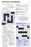 Creating Crosswords