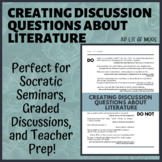 Creating Discussion Questions About Literature