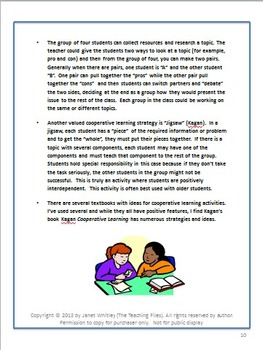Creating Effective Groups During Instruction