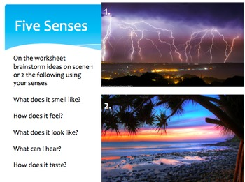 Creating Engaging Texts- Our Five Senses