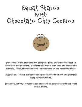 Creating Equal Shares Using Cookies
