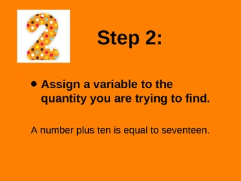 Creating Equations and Inequalities PowerPoint