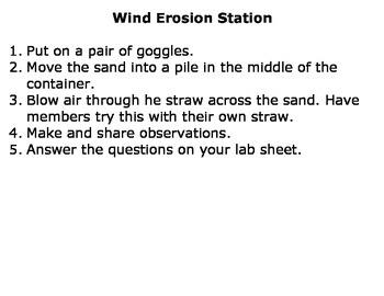 Creating Erosion Lab