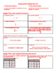 Creating Expressions Worksheet