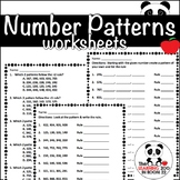 Creating/Extending Number Patterns