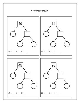 Creating Factor Trees