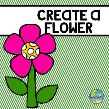 Creating Flowers File Folder Game