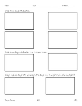Creating Fraction Flags