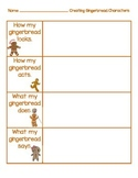 Creating Gingerbread Characterization Activity