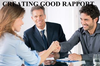 Creating Good Rapport