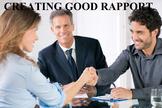 Creating Good Rapport