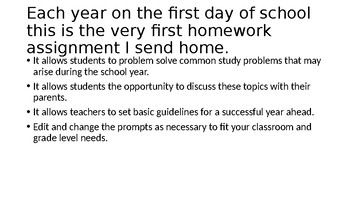 Creating Good Study Habits and Problem Solving Students