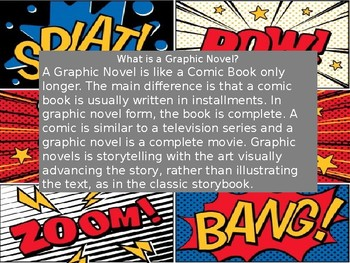 Creating Graphic Novels