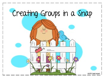 Creating Groups in a Snap
