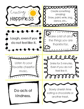 Creating Happiness Prompts
