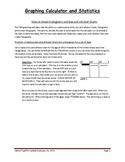 Creating Histograms, Dot Plots and Box & Whisker on TI84