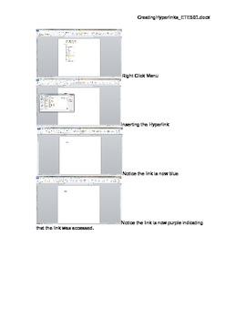 Creating Hyperlinks in MSOffice - it's easy