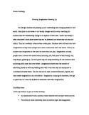 Creating Imagination-Thematic Unit