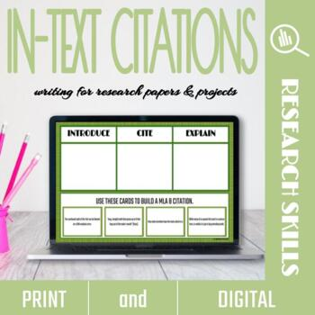 Creating In-Text Citations