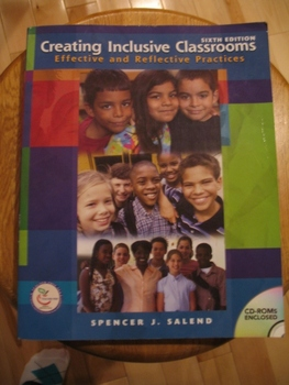 Creating Inclusive Classrooms:  Effective and Reflective Practices