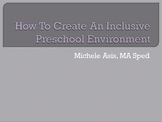 Creating Inclusive Environment Powerpoint Presentation