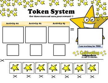 Independent Living Skills Token Board