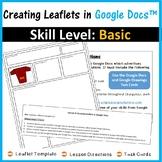 Creating Leaflets in Google Docs™