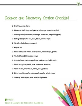Creating Learning Centers in the Classroom