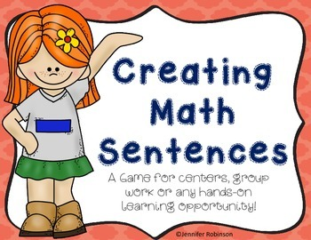 Creating Math Sentences Game