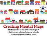 Creating Mental Maps Geography Map Skills Practice Activity