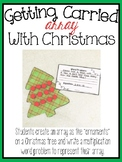 Create Multiplication Word Problems and Arrays with a Fun Holiday Math Craft