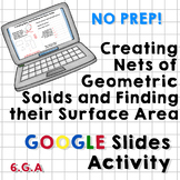 Creating Nets to Find Surface Area of Prisms Google Slides Activity (No Prep!)