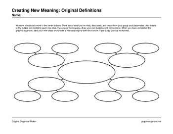 Creating New Meaning: Original Definitions