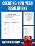 Creating New Year Resolution Activity (Editable in Google Slides)