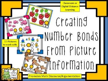 Creating Number Bonds from Picture Information