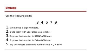 Creating Numbers
