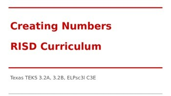 Creating Numbers
