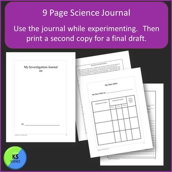 Science Fair Project Guide:  Create Original Investigations with 4th/5th Grade