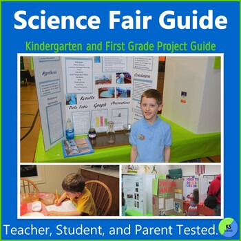 Science Fair Project Guide Bundle:  Create Original Projects with K-5th Grade