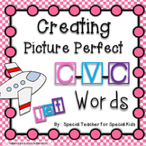 **Creating Picture Perfect C-V-C Words {Word Work Centers