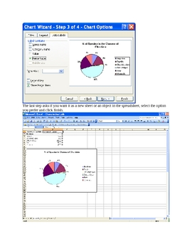 Creating Pie Charts with a Spreadsheet Program