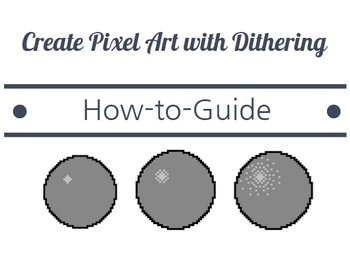 Creating Pixel Art Rock with Dithering - How To Guide