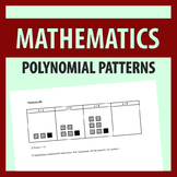 Creating Polynomials & Equations from Patterns