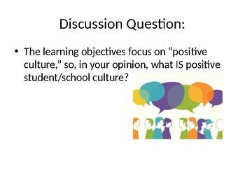 Creating Positive Classroom Culture