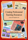 Creating Professional Looking Teaching Resources (A Staff