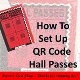 Creating QR Hall Passes