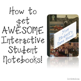 Back to School - Interactive Notebooks
